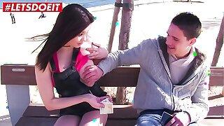LETSDOEIT - Asian Hottie Miyuki Son Convinces Amateur Stud To Fuck For Money